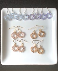 Swarovski Wreath Earrings