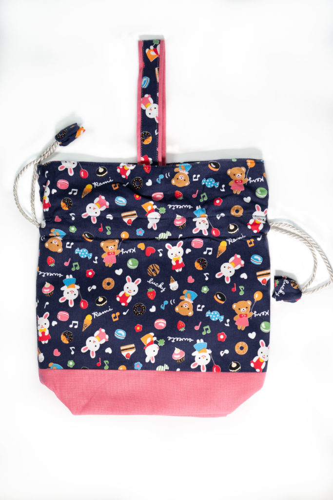 Drawstring Bag – Bunny Rabbit (Seasonal Series)